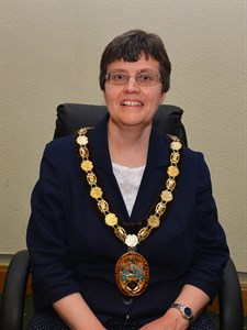 The Chairman, Councillor Mrs Sally Tarry