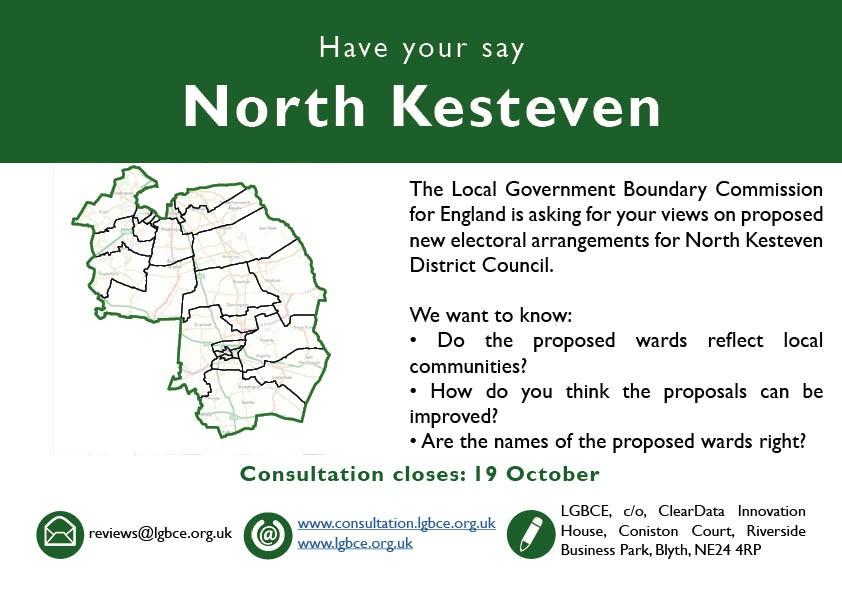 Have your say on the Boundary Commission Consultation