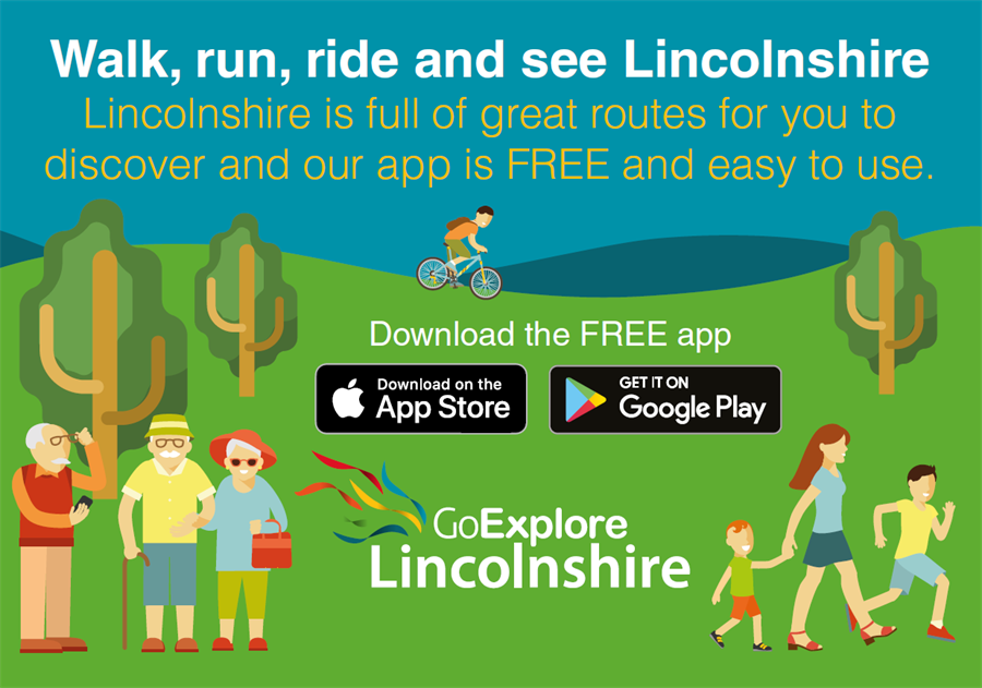 Walk, run, ride and see Lincolnshire