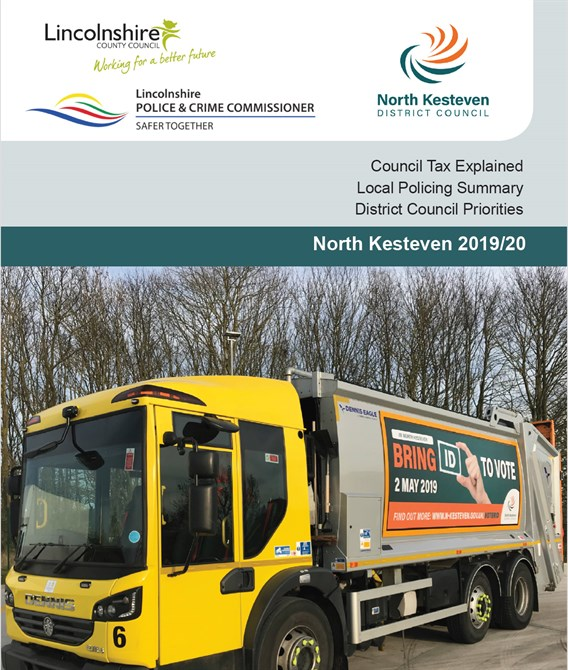 Council Tax booklet cover