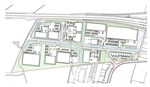 Sleaford Moor Enterprise Park: Indicative masterplan
