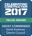 Celebrating Construction 2017 - Value Award Highly Commended