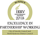 IRRV Performance Awards 2018 - Winner - Excellence in Partnership Working